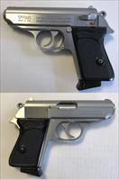 Walther/Interarms Model PPK Stainless .380