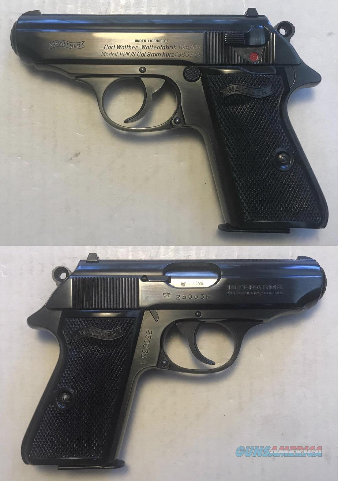 Walther PPK/S 9mmK ( 380acp)