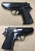 German Walther PPK/S 9mmK (.380acp) Mfg. 1974