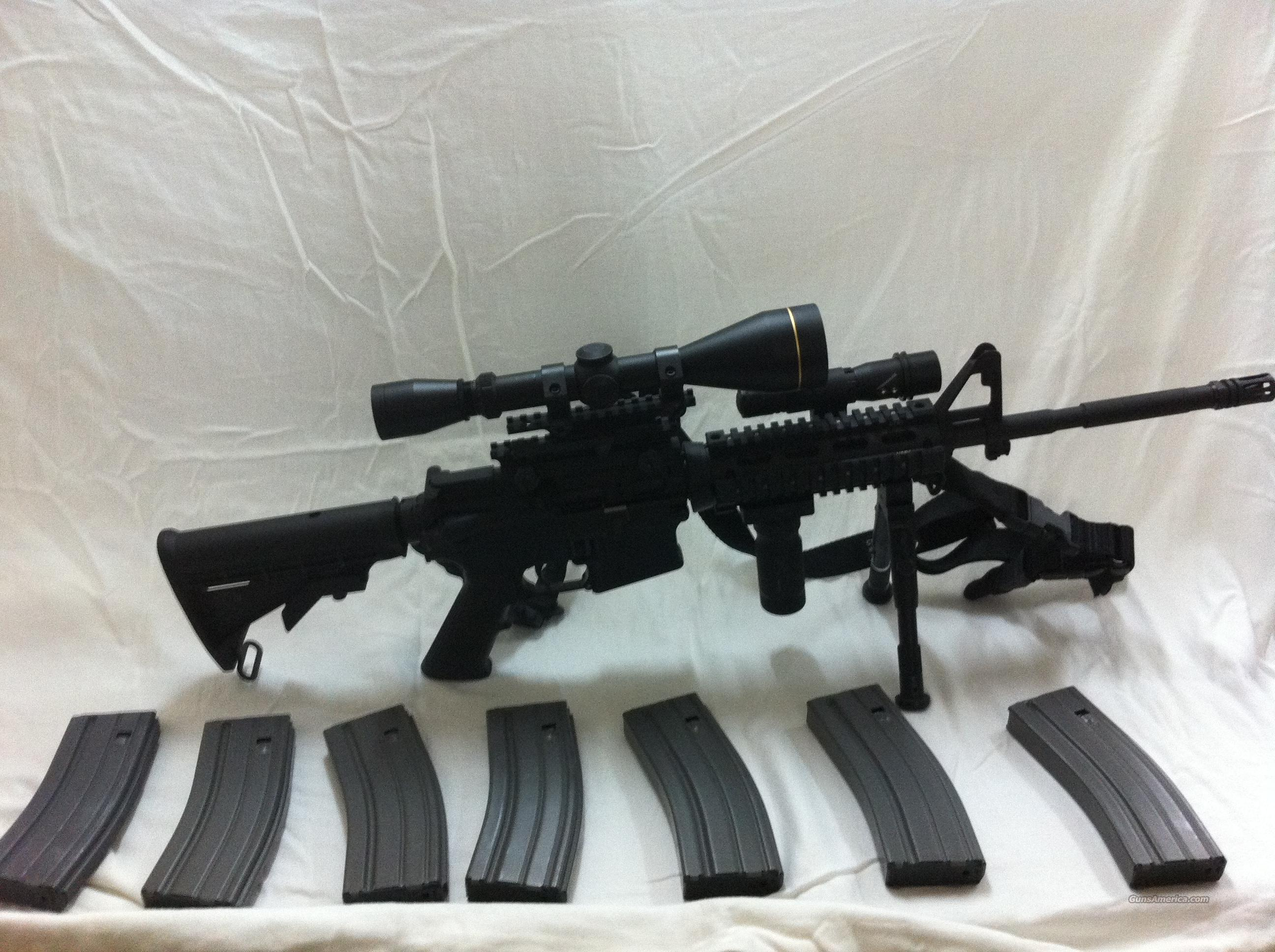 Bushmaster AR-15 XM15-E2S 223 556 5 56 Tactial Assault Rifle Package