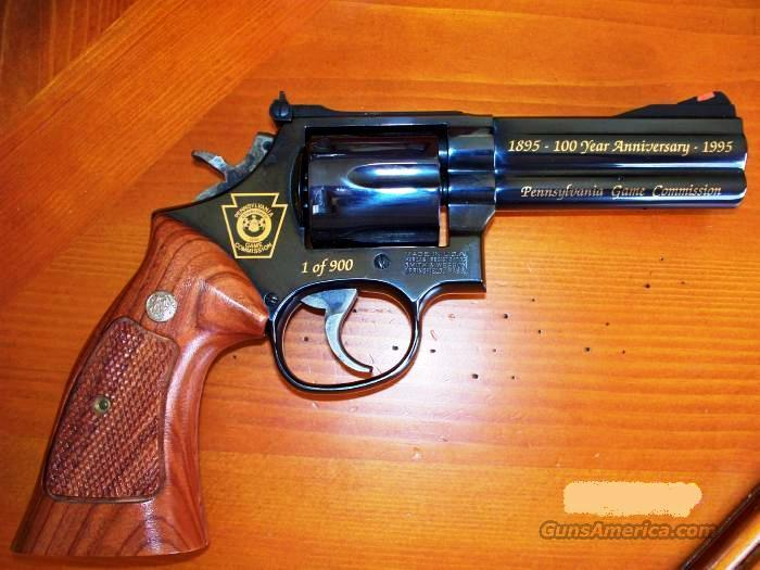 Smith & Wesson Model 586-4 PA  Game Commission  357 Mag