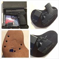 Kel-Tec PF9 Parkerized with Crossbreed IWB Holster