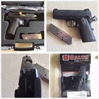 Sig Sauer 1911 Ultra Nitron With Galco Supertuck