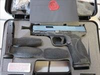 "AGENCY ARMS Smith & Wesson Blue Titanium Cerakote Slide M&P9 2.0 4.25"" NIB 9mm 17+1 Full Build M2.0 Urban Combat No CC Fees"
