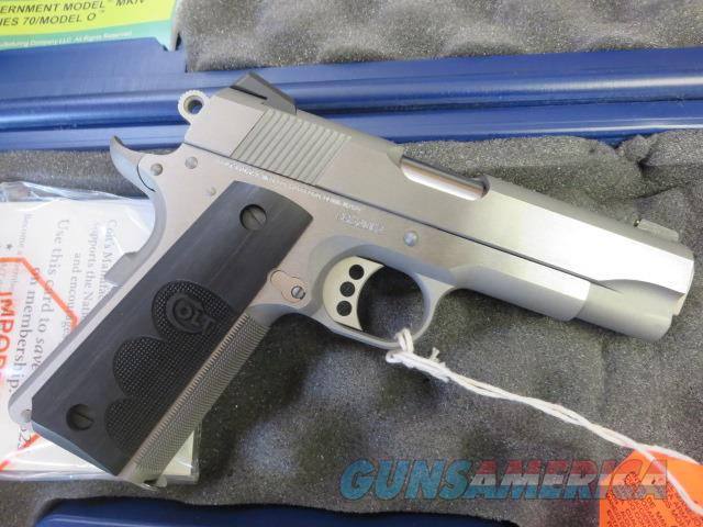 Colt Wiley Clapp Commander 45 Stainless 4 25 Ta For Sale