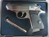 Walther PPK .380 Stainless 4796001 6+1 NIB New Model 2 mags FREE SHIPPING No CC FEES