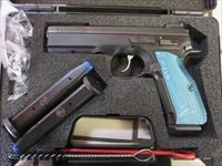 CZ 75 Shadow 2 9mm 91257 17+1 3 mags NIB SALE PRICE Black/Blue