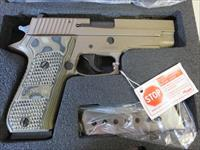 "Sig Sauer P220 Scorpion .45acp 4.4"" SRT Night Sights NIB 220R-45-SCPN FDE 8+1 SALE PRICE"