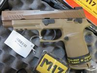 Sig Sauer P320 M17 Coyote FDE 17+1 USED EXCELLENT CONDITION 320F-9-M17-MS SALE PRICE