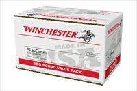 800 rnd Case Winchester USA M193 5.56mm 55gr. FMJ Ammunition 556 USA556L2