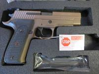Sig Sauer P226 .40 FDE 12+1 SRT Tritium Night Sights 2 mags Emperor Scorpion 226 FDE NIB SALE PRICE No CC Fees E26R-40-ESCPN