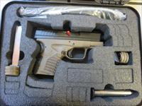 "Springfield Armory XD-S FDE .40 3.3"" XDS93340DEE XDS NIB 4 Mags !! Sale !! No CC Fees Extra Mags !!"