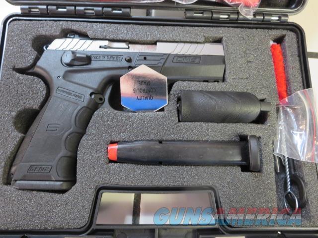 SAR USA CM9 Gen2 Stainless 9mm 17+1 NIB SALE PRICE 2 Mags !! CM9ST