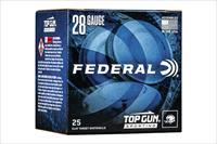 250 round Case Federal Top Gun .75oz #8 shot 2-3/4