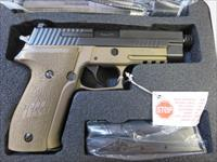 Sig Sauer P226 Combat 9mm FDE Frame Threaded Barrel P226R 15+1 2 mags NIB E26R-9-CBT-TB SALE PRICE