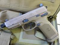 FNX-45 Tactical .45 15+1 FDE Threaded Barrel Night Sights 3 magazines FNX45 66968 SALE PRICE