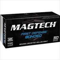500 round Case MagTech First Defense Bonded Sub-Sonic 9mm 147gr. JHP Ammunition