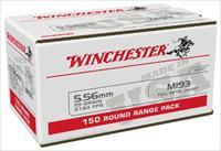 600 round Case Winchester 5.56mm M193 55gr. Ammunition WM193150