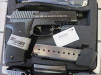 Sig Sauer P220 40th Anniversary Threaded Barrel Tritium Night Sights 220-45-CP-BSS-TB-40TH NIB RARE Collector P220R Combat