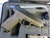 Springfield Armory XD Mod.2 9mm Threaded Barrel FDE Frame 16+1 NIB XDGT9101FDEHC XDMod.2 TB SALE PRICE 2 Mags