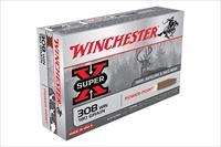 200 round Case Winchester Super-X .308 180gr Power-Point Ammunition 308win  X3086