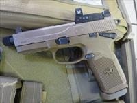 FN FNX-45T FDE .45 15+1 66-100659 w/ Vortex Venom Red Dot NIB SALE 66100659 FNX45 Tactical