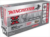 100 rounds Winchester .350 Legend 350legend NIB 180gr. Super-X Power-Point JSP