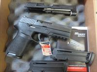 "Sig Sauer P250 Compact 3.9"" .40 13+1 NIB With .22 Conversion Kit 250C-40-22-B-VP SALE PRICE"