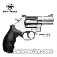 "Smith & Wesson Model 686 PLUS 2.5"" Stainless Steel .357 MAG, 7 Round Capacity (Model 164192), Ships for FREE, no Credit Card Fees, LIFETIME WARRANTY"