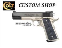 COLT SPECIAL COMBAT GOVERNMENT 38Super Model 02580CM, Colt Custom Shop Pistol, Ships for FREE, NO Credit Card FEES
