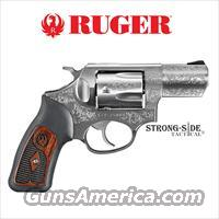 "RUGER SP101 2.25"" STAINLESS STEEL (TALO LIMITED EDITION) Engraved .357 MAG   SHIPS FOR FREE, NO CC FEES"