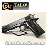 "Colt GR Super (Talo Limited Edition) 5"" .38 Super 1911 Model 02991GR"