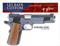"Les Baer Premier II 5"" Tactical Model, National Match Steel Frame .45ACP 1911 (Model LBP2302-T) Ships for FREE, No Credit Card Fees"