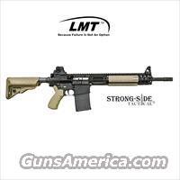 "LMT LM308MWSE .308 Modular Weapon System, 16"" Chrome Lined Barrel AR10 (.308) - Flat Dark Earth  *Ships for FREE NO CC FEES"