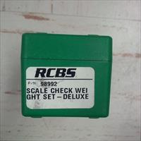 RCBS Check Weight Deluxe set