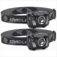 Cyclops Quad mode LED headlamp 2-pack