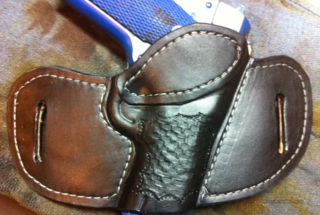 Louisville Leather 1911 Pancake OWB Tooled Concealment Holster