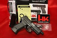 HK HK45 COMPACT TACTICAL V7 45acp 2 10 ROUND MAGS NIGHT SIGHTS 45