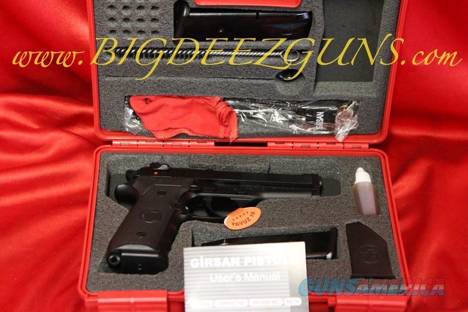 Zenith GIRSAN REGARD MC COMPACT BLACK like 92fs Compact 9mm 3 mags 15 round  NO CC FEE FREE SHIPPING