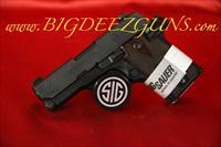 Sig Sauer P938 ROSEWOOD NITRON 938-9-RG-AMBI 9MM 1911 POCKET CONCEAL CARRY 6 ROUND
