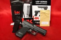 Hk USP USP40 V7 LE LEM DAO 3 mag 13 round 40s&w NIGHT SIGHTS 40