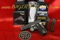 Sig Sauer 1911 FASTBACK NIGHTMARE CARRY 45ACP SAO 1911FCA-45-NMR FREE SHIPPING NO FEES
