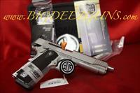Sig Sauer 1911 TRADITIONAL MATCH ELITE STAINLESS 1911T-38-SME 38 SUPER