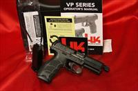 Hk VP VP40 TACTICAL 40 S&W Threaded Barrel 2 13 round mags