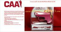 CAA Lady Jean PEPPER SPRAY GUN PINK
