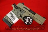 Sig Sauer P938 SCORPION 9MM CONCEAL CARRY 1911 CERAKOTE NIGHT SIGHT 938-9-SCPN
