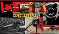 Heckler & Koch HK MR762A1 LRPX LONG RIFLE PACKAGE