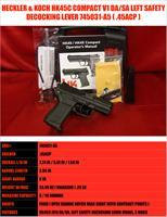 Heckler & Koch HK HK45 HK45C COMPACT V1 45ACP SAFETY DECOCKING LEVER 45ACP 745031-A5