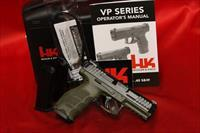 HK H&K Heckler Koch VP40 GREEN 40 S&W 13 round M700040GRLE-A5 3 mags