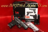 Heckler Koch HK USP45C V1 DA SA WITH SAFETY 3-8 RD MAGS NIGHT SIGHT 704531LE-A5